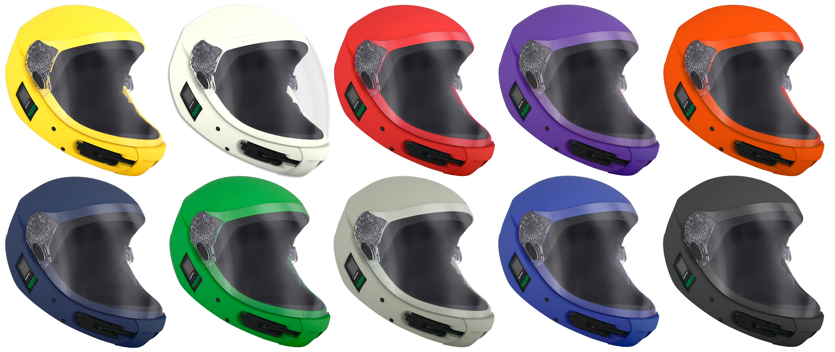 kiss helmet colours